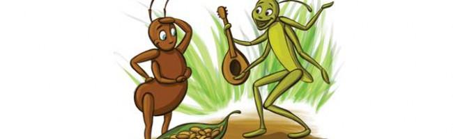 Cvrčak i mravi